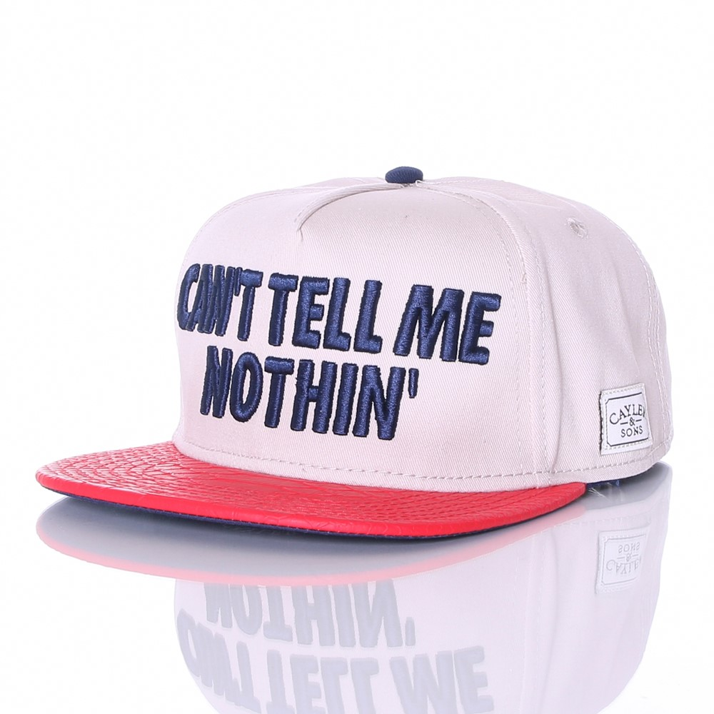 tell-me-nothin-cap