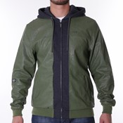 Pelle Pelle - Mix-up padded hooded jacket