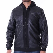 Pelle Pelle - Mix-up hooded jacket