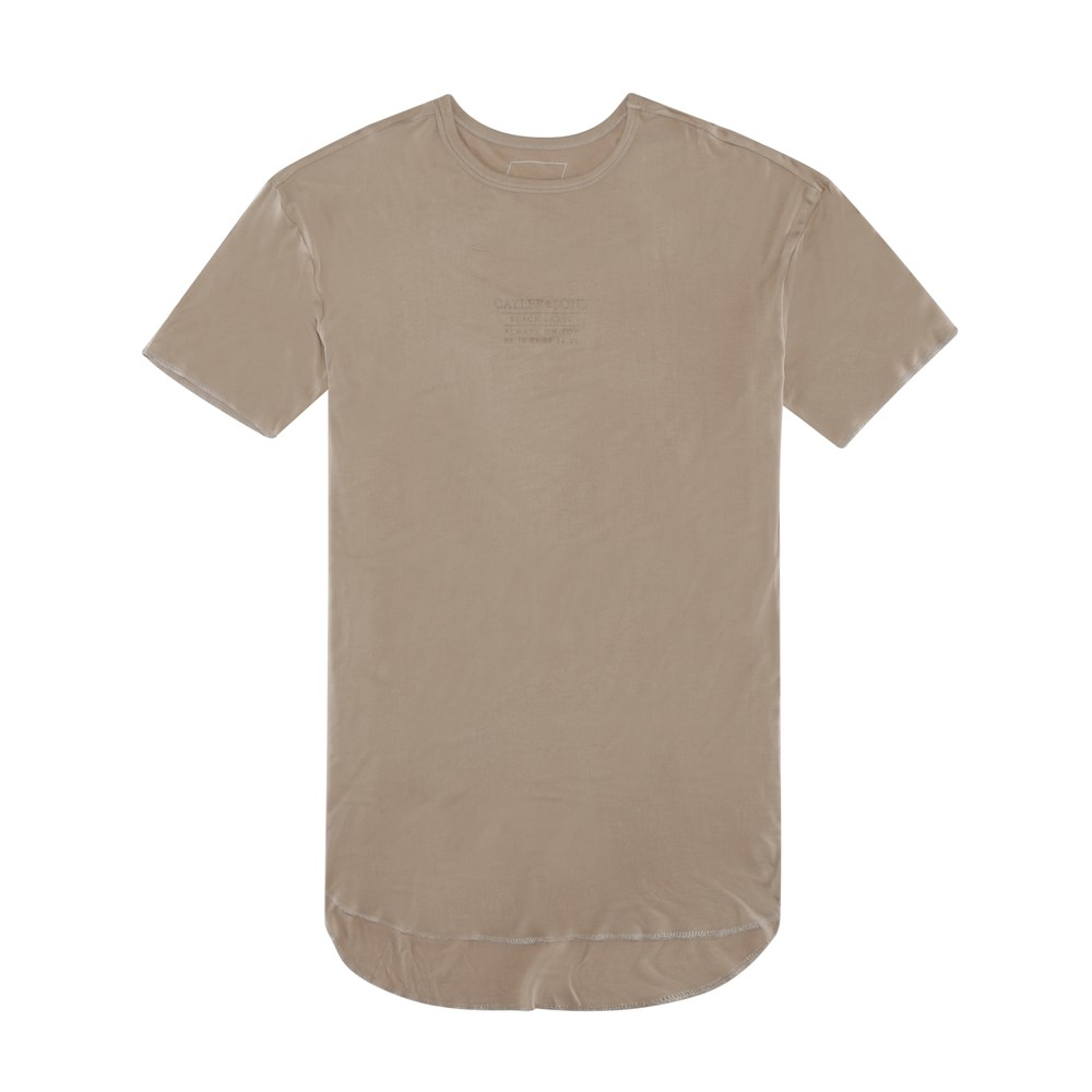 Image of   Bl drop scallop tee