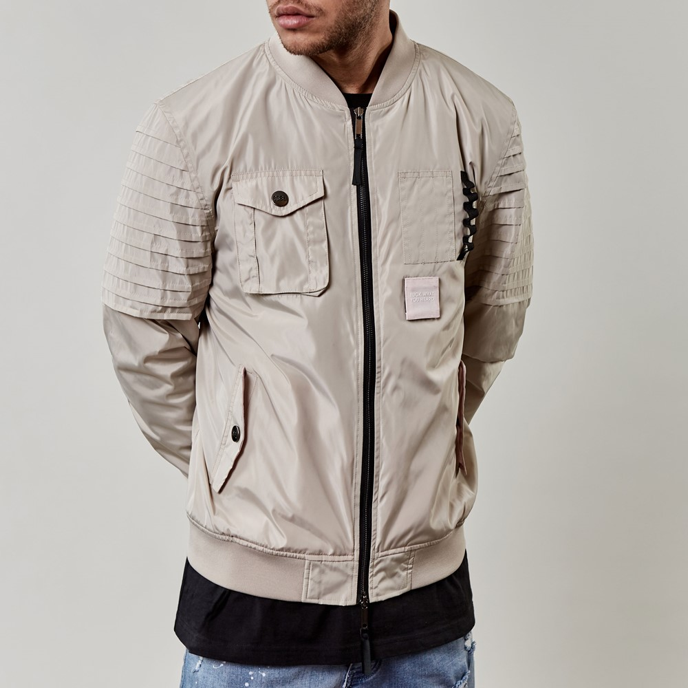 Image of   Csbl pleated bomber