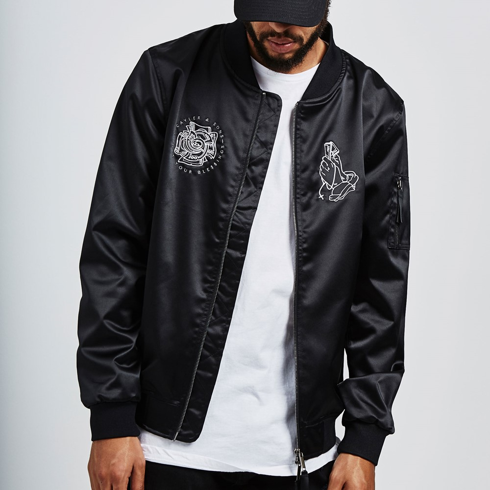 Image of   C&s wl blessed bomber jacket