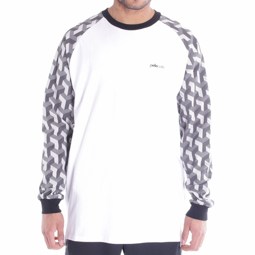 Image of   Blockparty ringer t-shirt l/s
