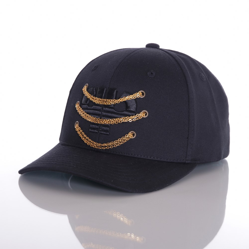 Image of   Chained icon curved snapback