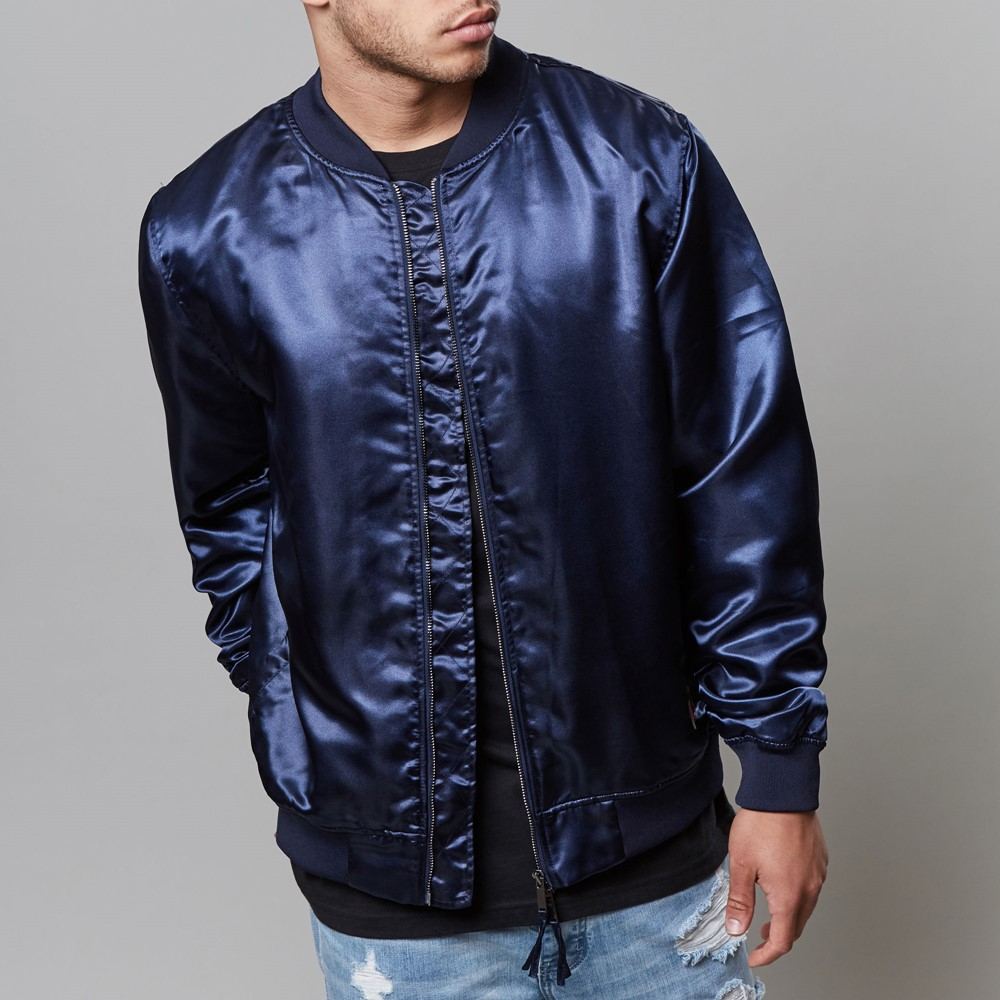 Image of   Csbl fam satin bomber jacket
