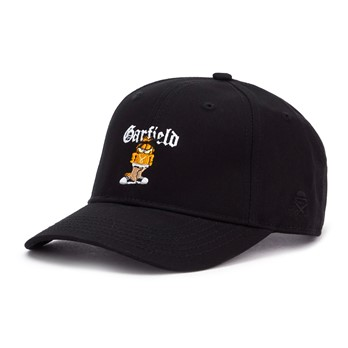 Left side garfield curved cap