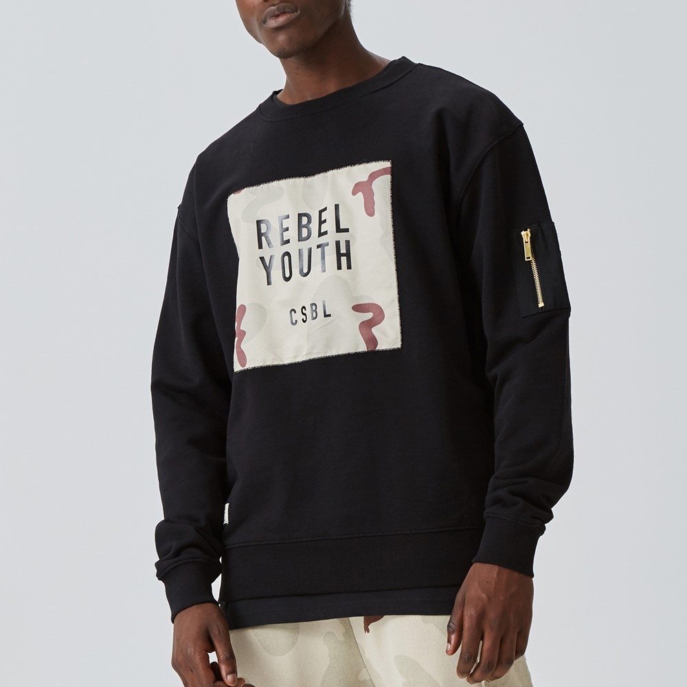 Image of   Csbl rebel youth crewneck