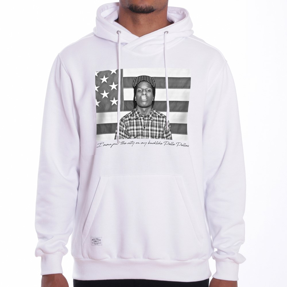 Image of   A$ap flag hoody