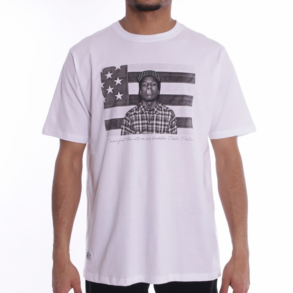 Image of   A$ap flag t-shirt s/s