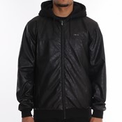 Remix padded hooded jacket
