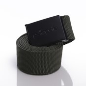 Coated core-porate army belt
