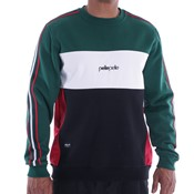 Off-court crewneck