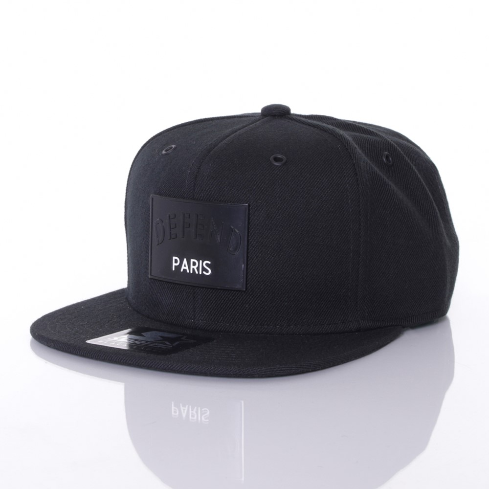 defend-paris-matte-snapback
