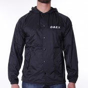Obey - Hooded Coaches Jacket