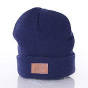 Alis - Suede Patch Beanie