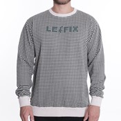 Le Fix - Dog Tooth Crewneck