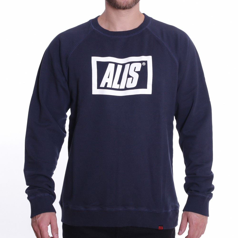 Image of   Alis - Stencil Box Crewneck