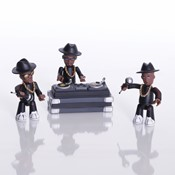 RUN DMC - Lego Small Unbox