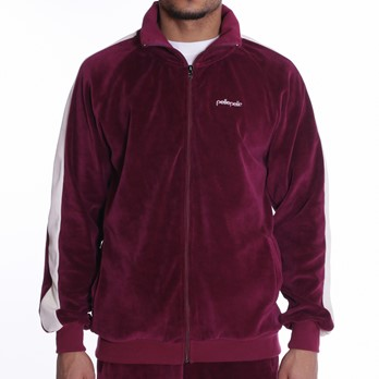 Headspin Velour Zip Tracktop