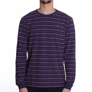 Le Fix - Thin Stripe LS Tee