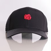 La Rosa - Red Rose Cap