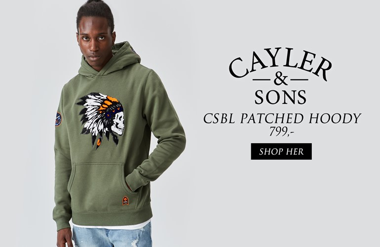 Cayler & Sons Patched Hoody