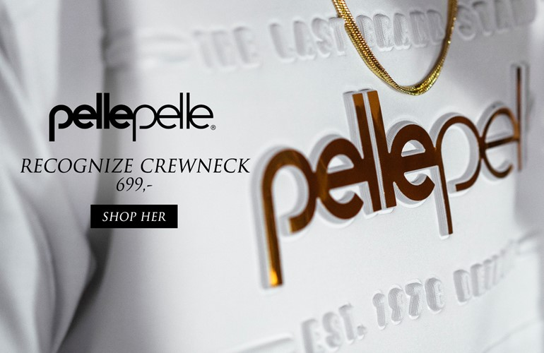 Pelle Pelle Recognize Crewneck